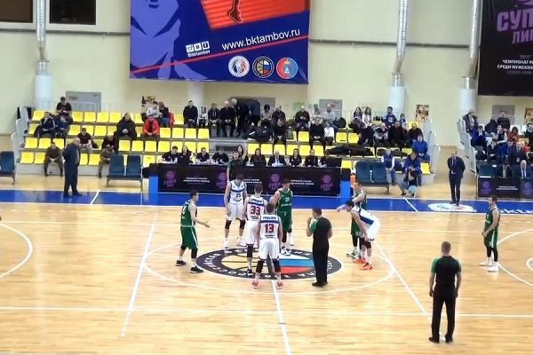 """Баскетболисты """"Тамбова"""" с крупной победы стартовали на втором этапе сезона"""