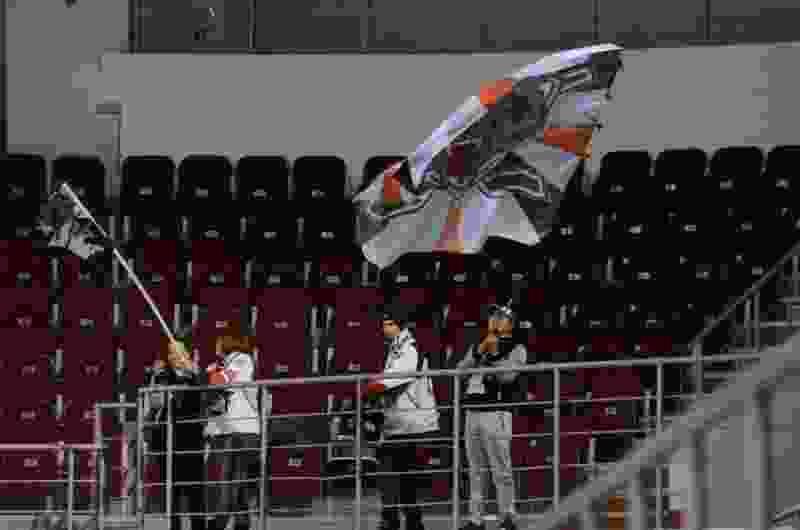 Некоторые горожане не понимают, почему болельщики ХК «Тамбов» не исполняют хором гимн России
