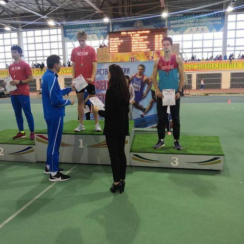Никита Ленчиков – призер первенства России среди юниоров и юниорок