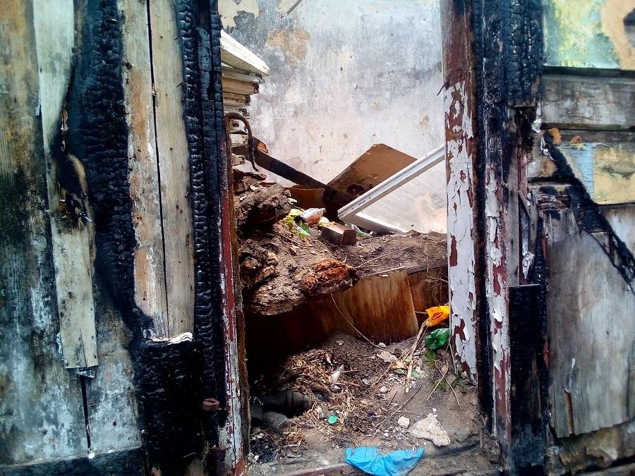 После вмешательства активистов ОНФ снесли бесхозный дом в Тамбове