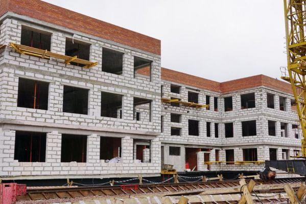 В Кирсанове никак не могут достроить новый корпус детского сада