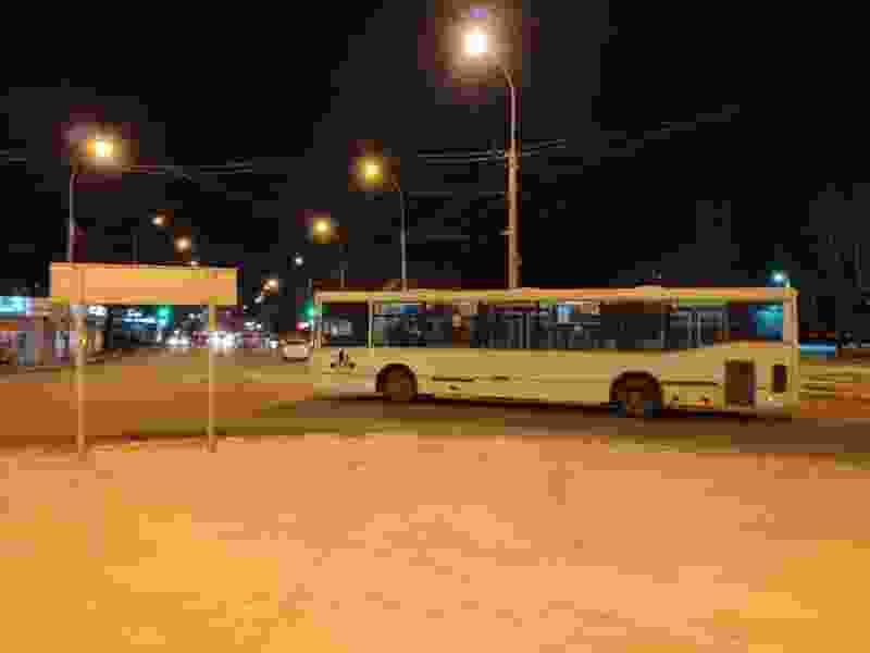 В Тамбове у «Океана» во время ДТП с участием автобуса в салоне упала женщина