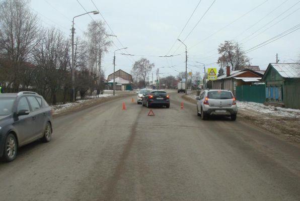В центре Тамбова школьник угодил под колёса иномарки