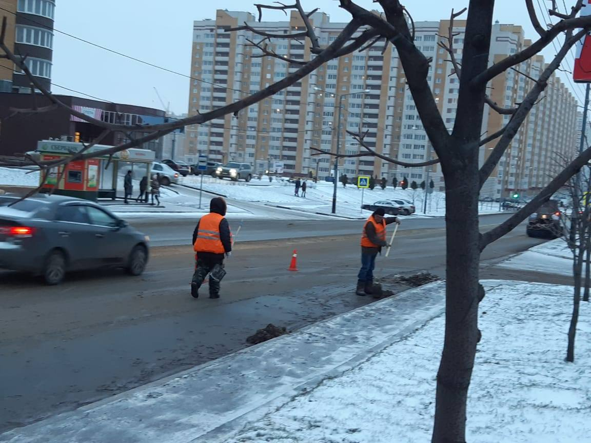 Улицы Тамбова приводят в порядок после зимы