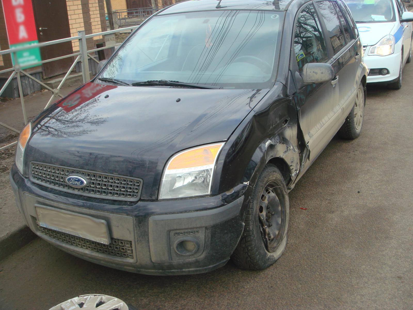 В Тамбове произошло ДТП с пятью автомобилями
