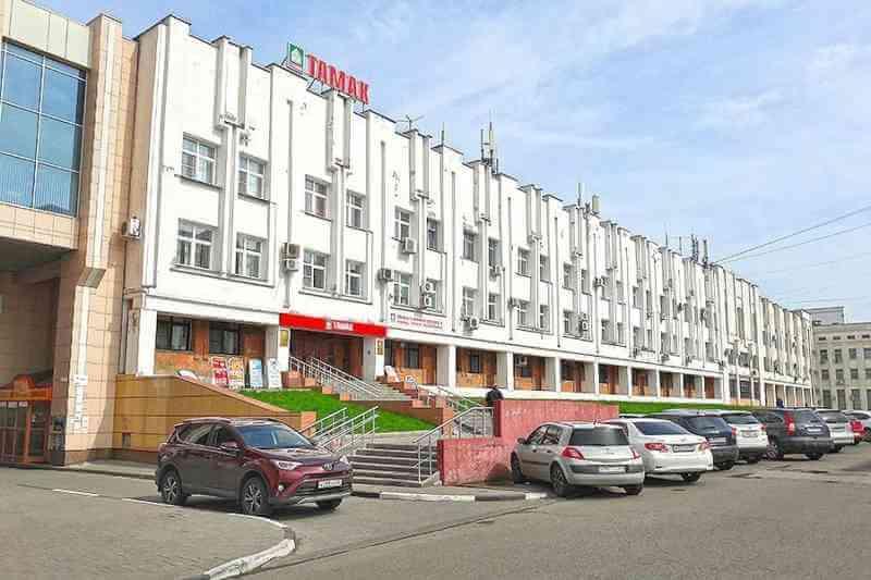 Здание «Тамак» на улице Интернациональной выставлено на продажу за 120 млн рублей