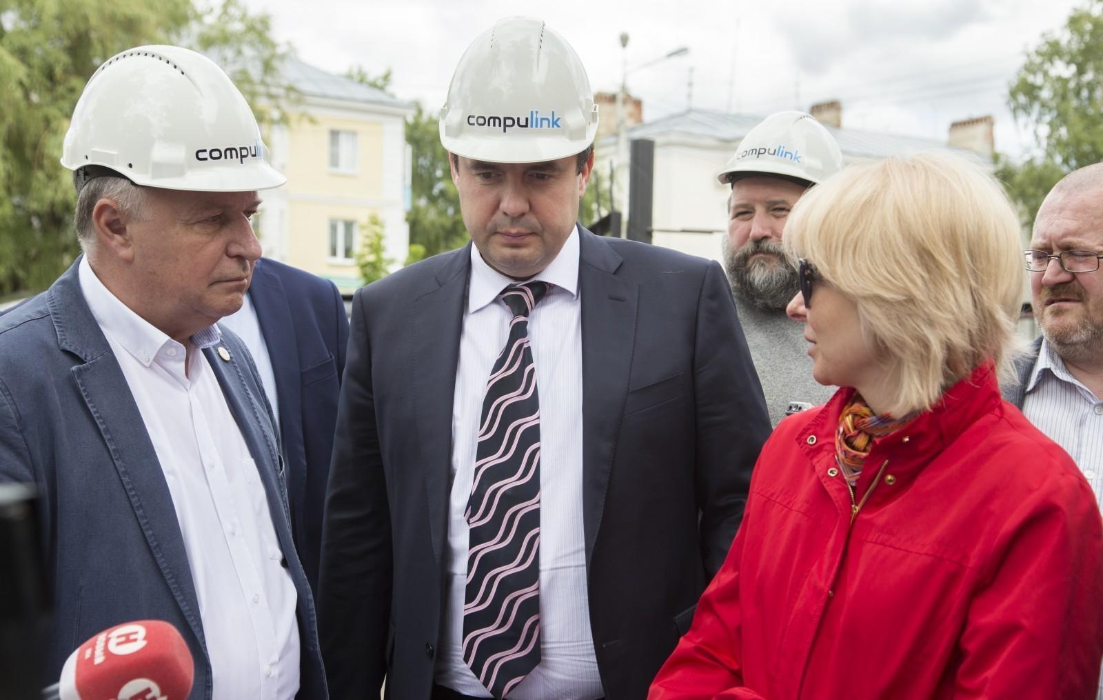 Заместитель гендиректора Фонда ЖКХ Ольга Сердюк проинспектировала строительство котельных в Котовске