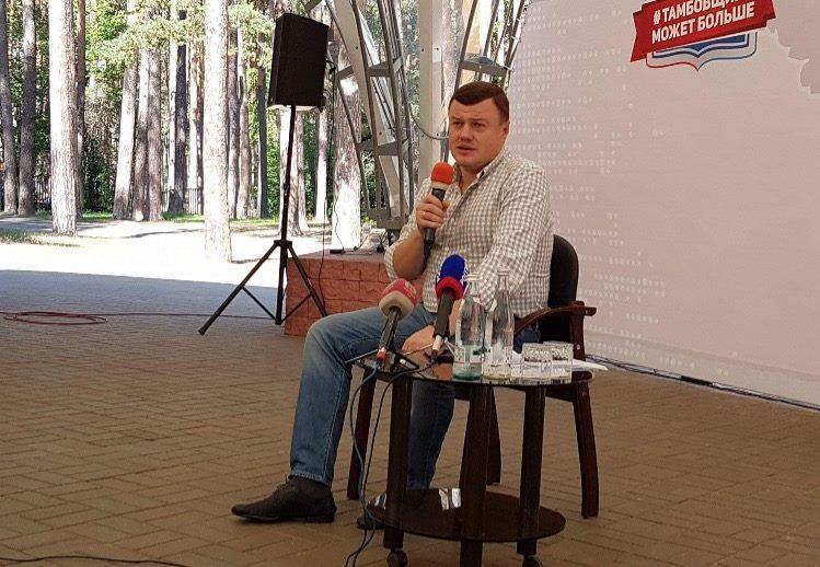 Александр Никитин проводит большую пресс-конференцию для региональных и федеральных СМИ