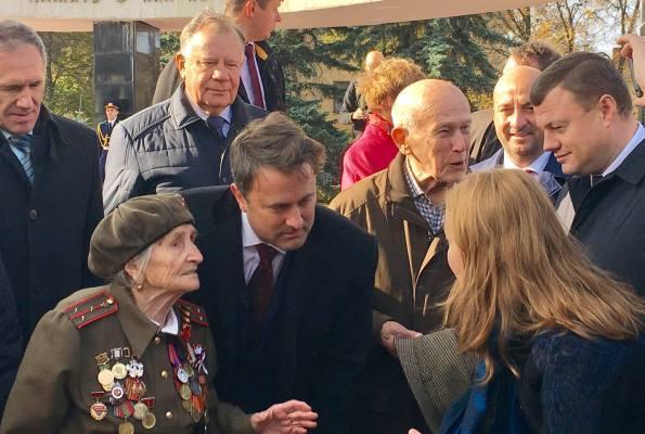 Александр Никитин пригласил премьер-министра Люксембурга принять участие в шествии «Бессмертного полка»