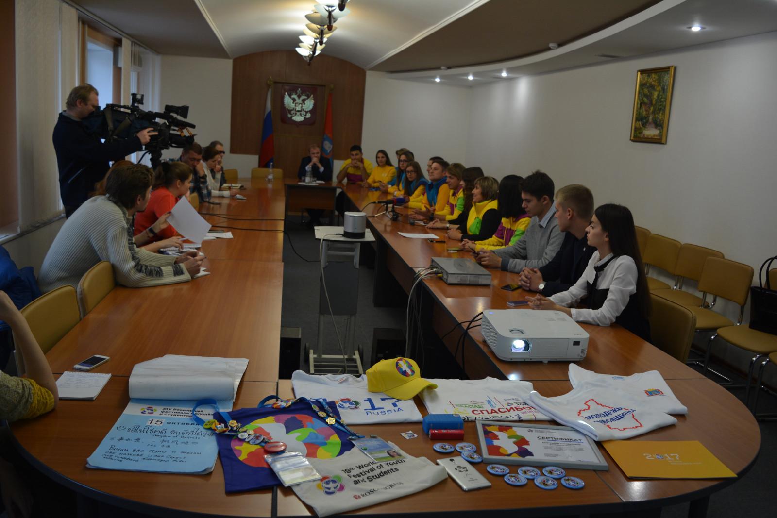 Участники Всемирного молодежного фестиваля поделились своими впечатлениями с журналистами