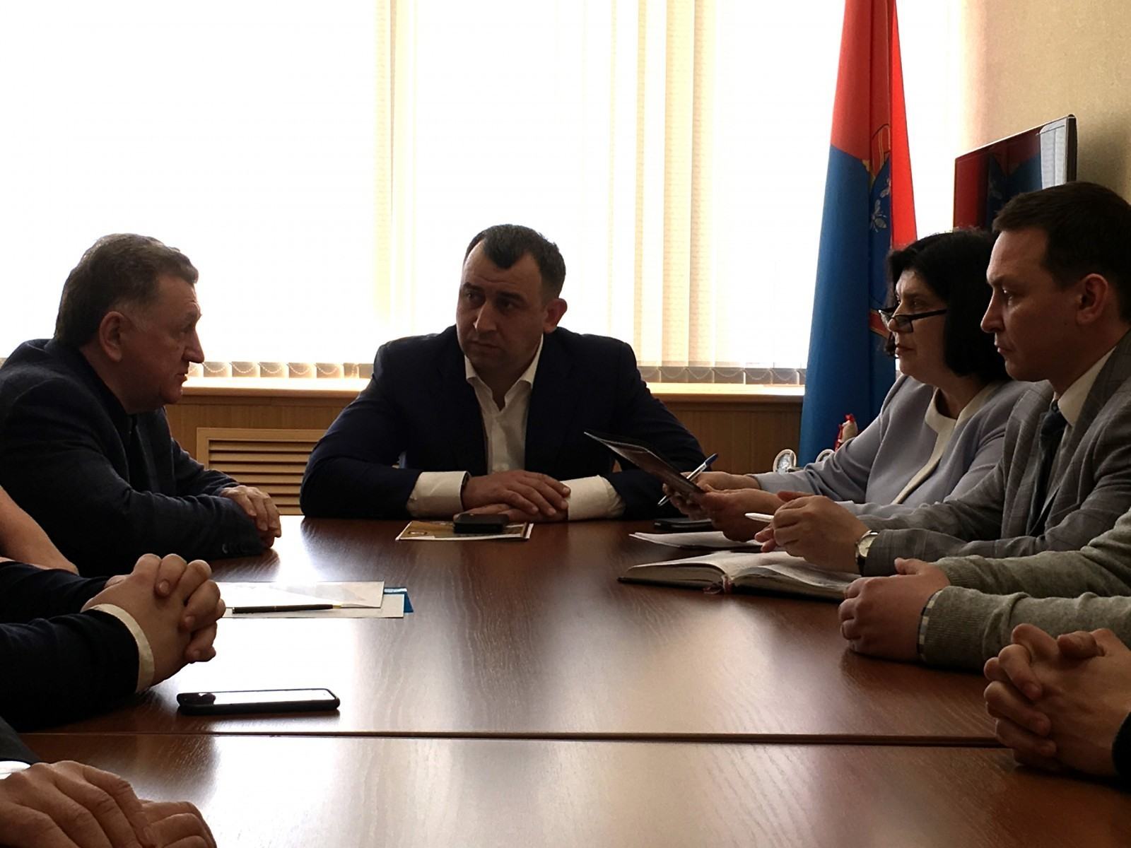 Вице-губернатор Арсен Габуев обозначил потенциальному подрядчику фронт работ по достройке перинатального центра в Тамбове