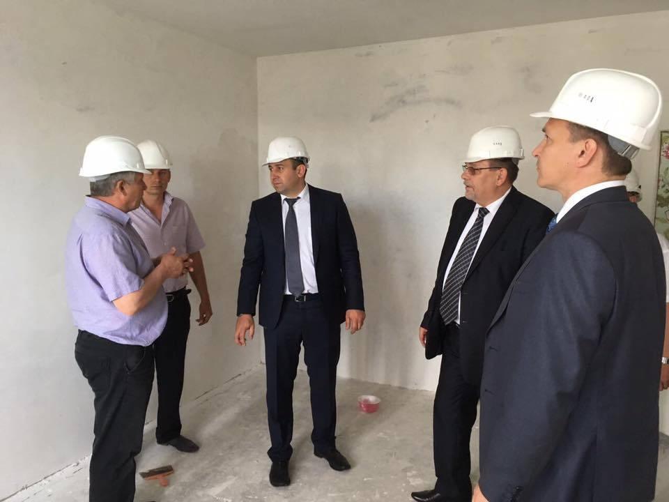 Вице-губернатор Арсен Габуев проинспектировал ход восстановительных работ в Моршанске