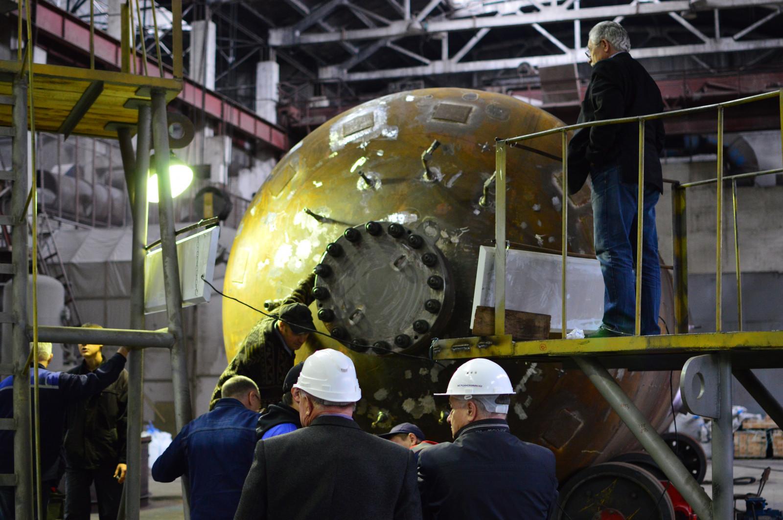 Завод «Моршанскхиммаш» отгрузил оборудование для Нововоронежской АЭС