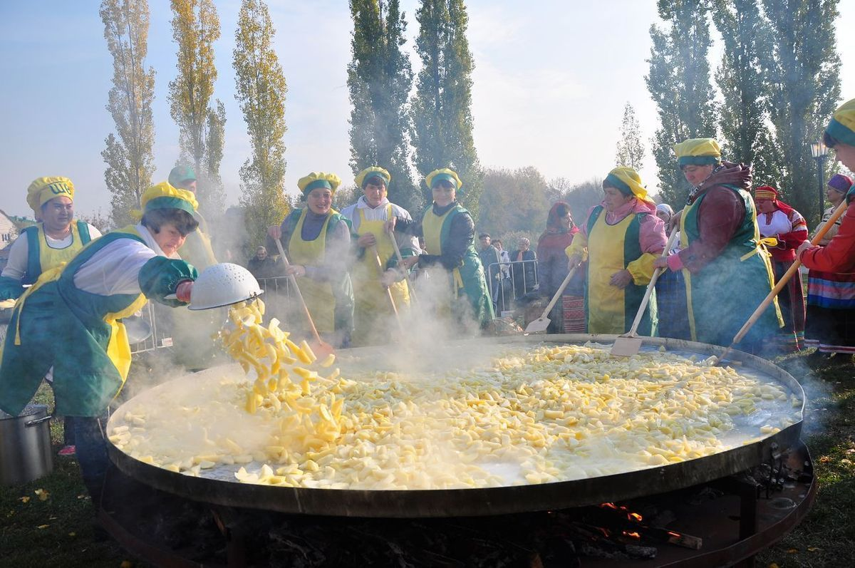 Праздник Тамбовской картошки стал самым ожидаемым событием осени у российских туристов