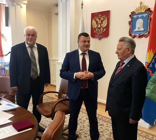 Губернатор Александр Никитин: «Историческая память не угаснет»