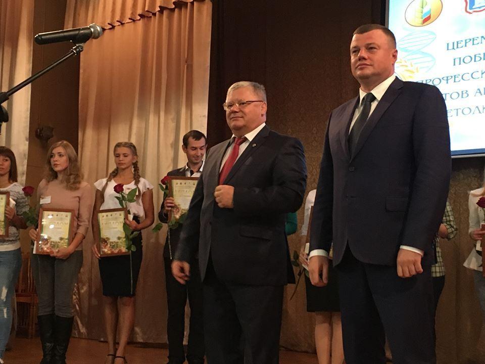 Губернатор Александр Никитин поздравил победителей пилотного конкурса профмастерства по растениеводческим специальностям