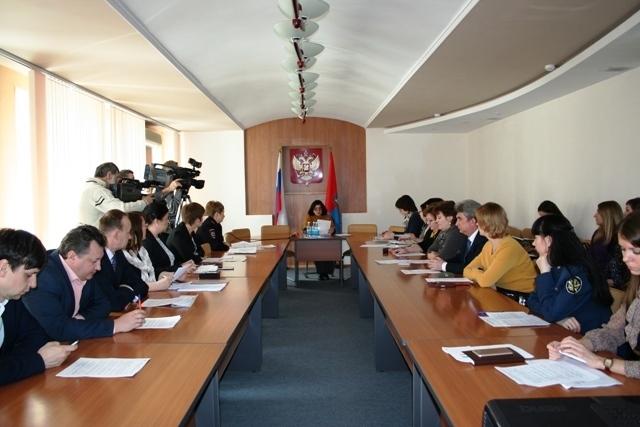 В администрации области обсудили итоги реализации региональной Стратегии действий в интересах детей