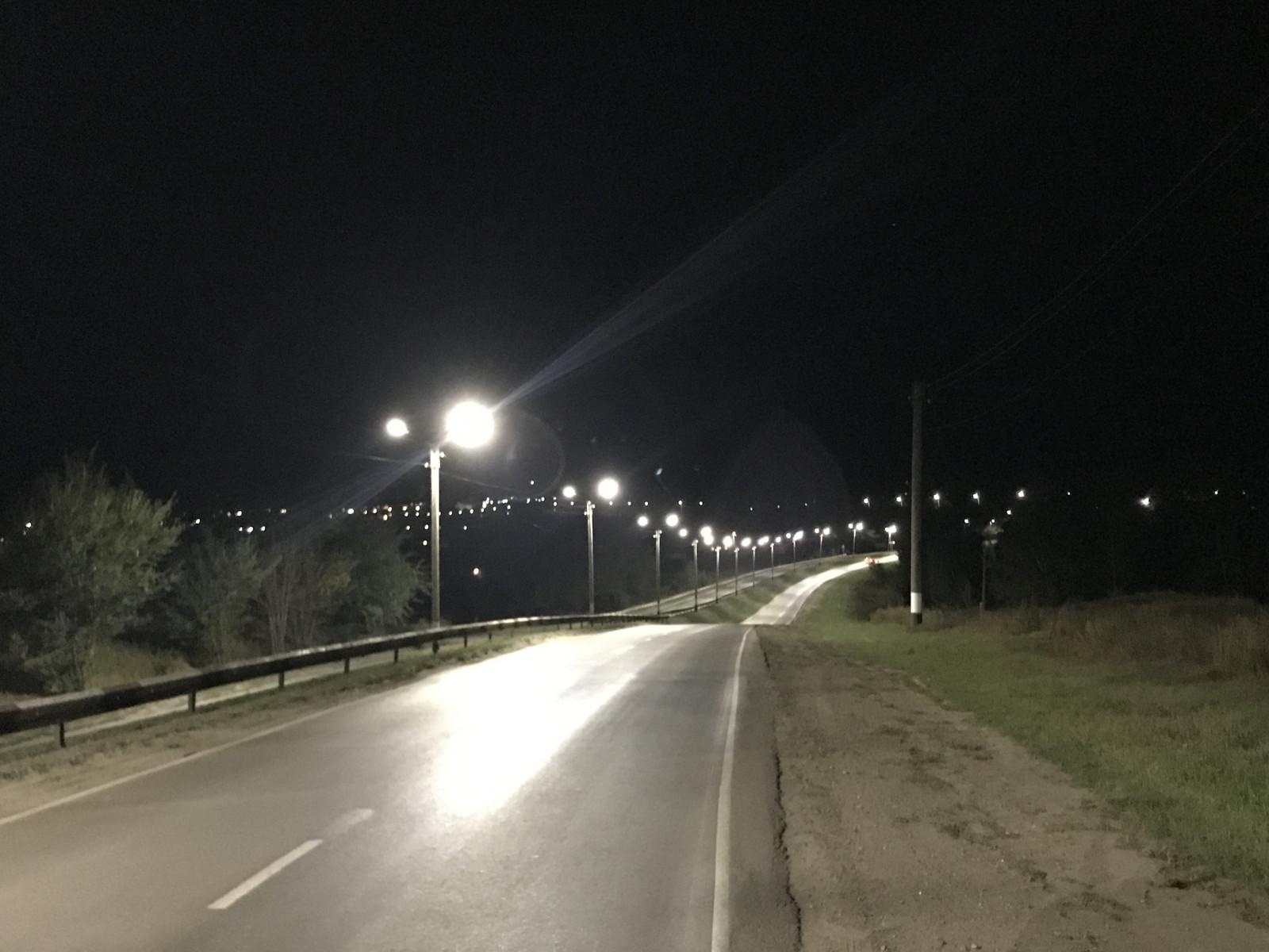 В Моршанске и Уварово завершены работы по модернизации уличного освещения