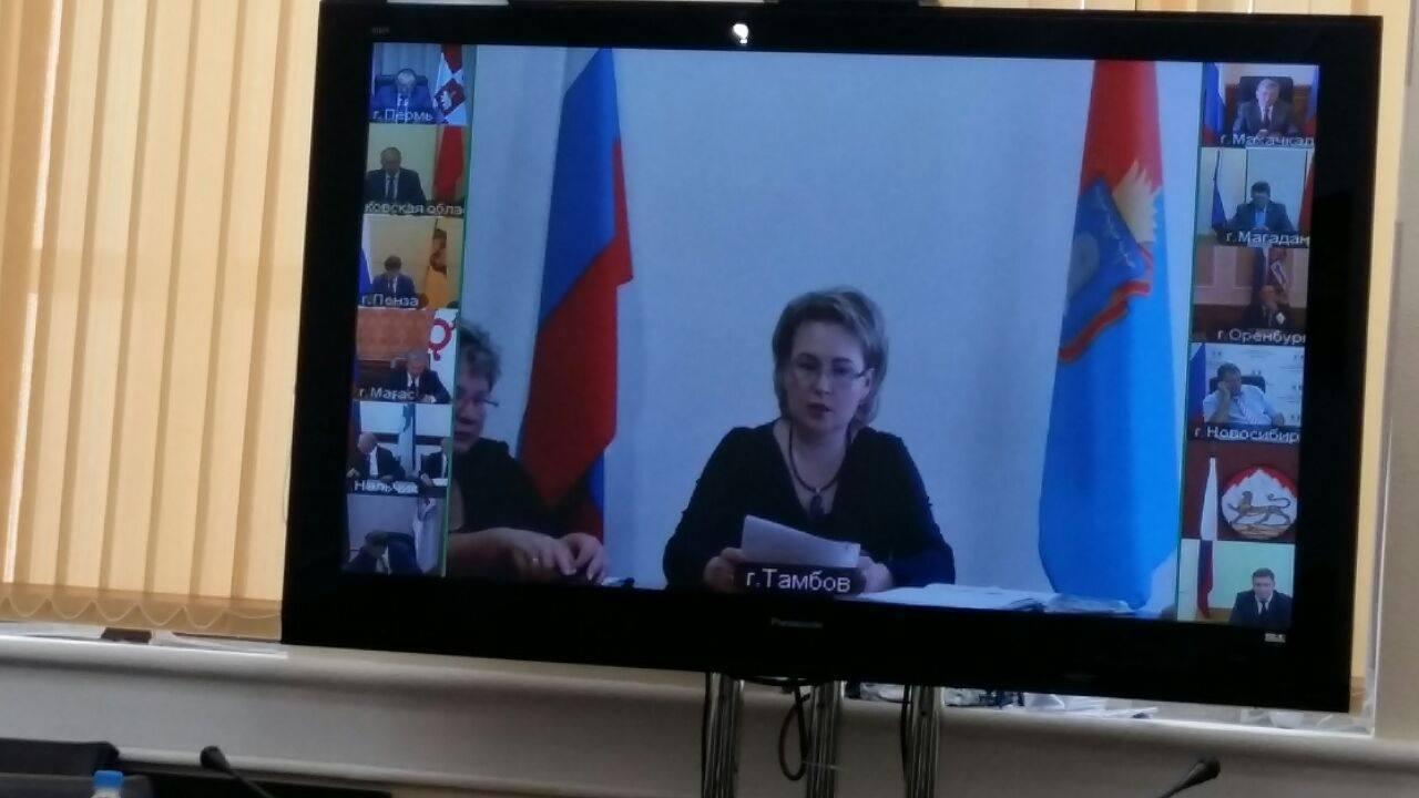 На федеральном уровне отметили отличную реализацию приоритетного проекта «Формирование комфортной городской среды» на Тамбовщине