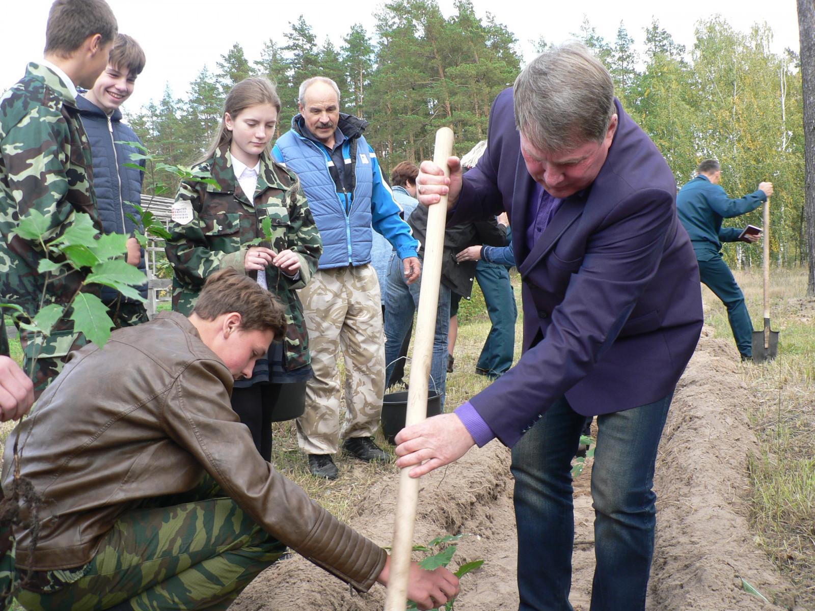 Тамбовская область приняла участие во Всероссийской акции «Живи, лес!»