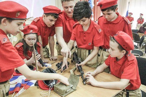 60 новичков пополнят ряды Юнармии в Тамбовской области