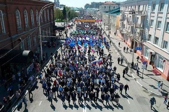 На майские праздники в Тамбове усилят меры безопасности