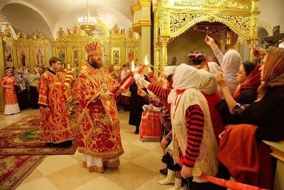 Православные тамбовчане отмечают Светлое Христово Воскресение