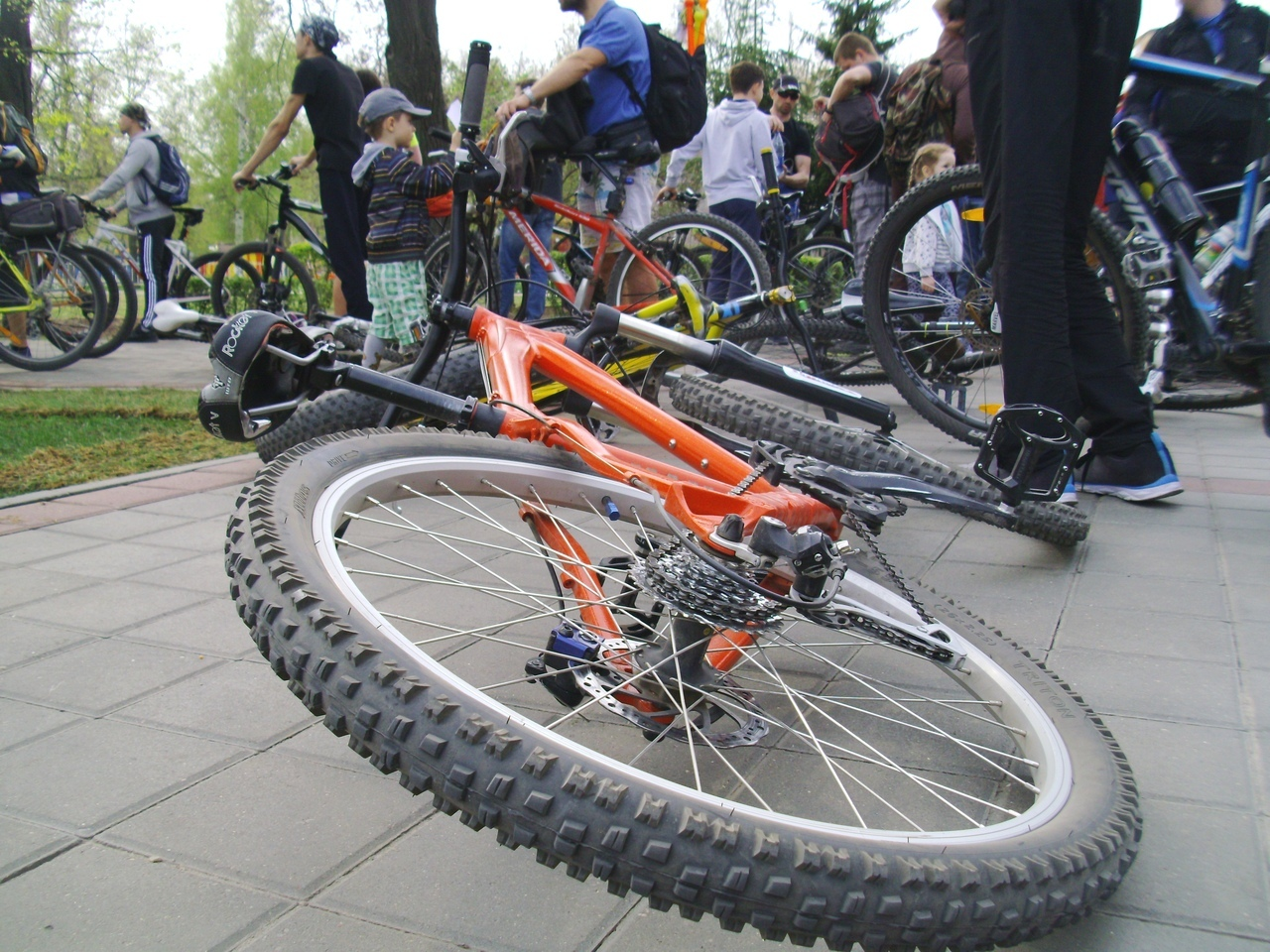 Тамбовские велосипедисты дали старт новому сезону