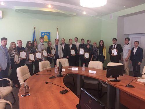 Члены Молодежного совета при Тамбовской городской Думе - лучшие в области