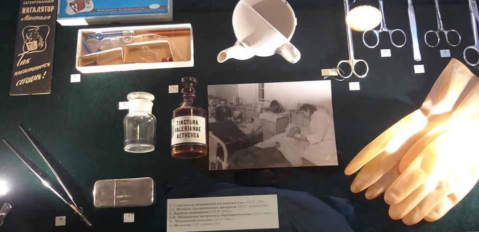 Историю эвакогоспиталя в усадьбе Асеевых показали на выставке