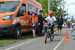 Лаборатория безопасности для юных велосипедистов