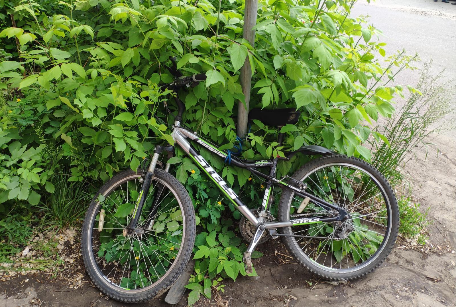 На севере Тамбова водитель иномарки сбил подростка на велосипеде