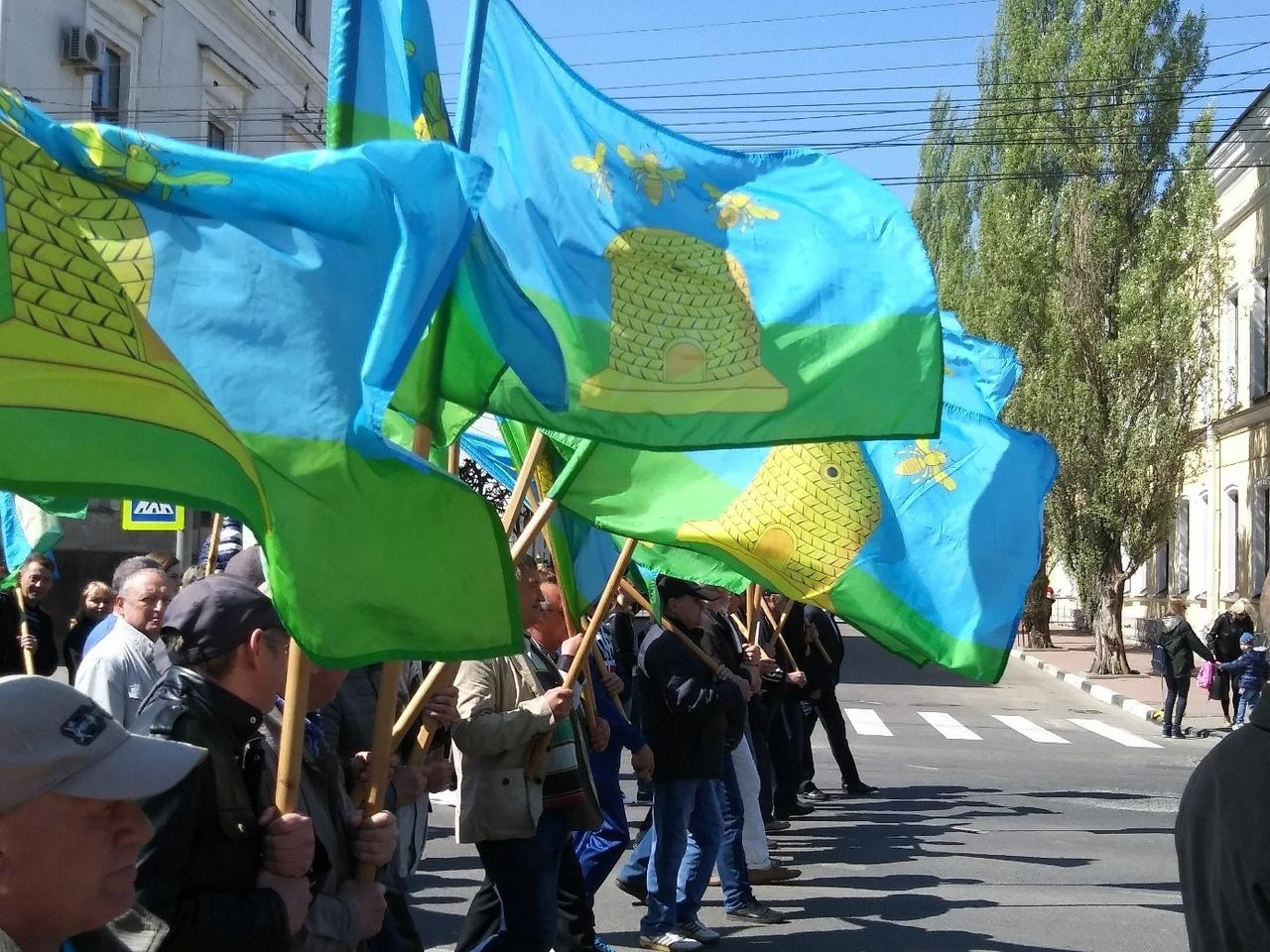 Первомай в Тамбове отметили праздничным шествием и митингом