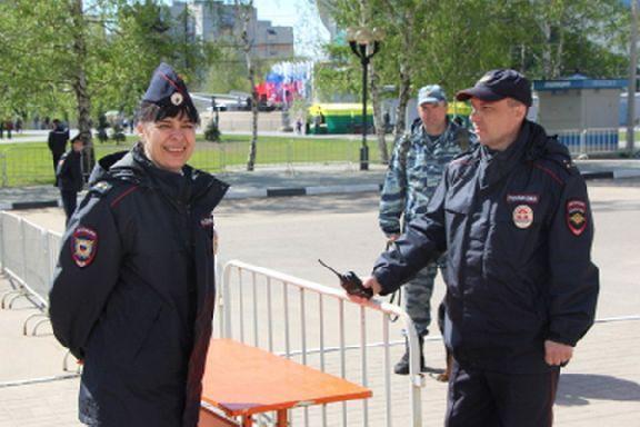 Первомайские шествия в Тамбове прошли без происшествий