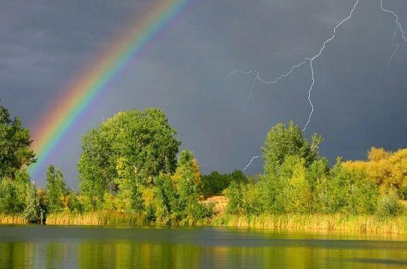 Первый день лета в Тамбовской области начнется с грозовых дождей