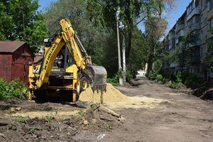 Продолжается благоустройство дворовых территорий в Тамбове