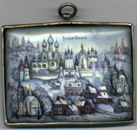 Тамбовчане увидят Ростовскую финифть XVIII-XXI веков