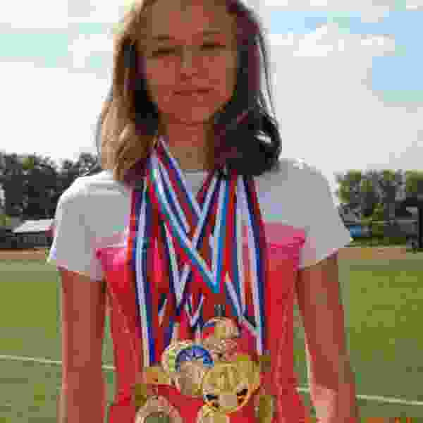 Тамбовчанка установила новый рекорд области на соревнованиях по лёгкой атлетике