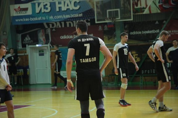 Тамбовские волейболисты сразятся за медали I Лиги чемпионата России
