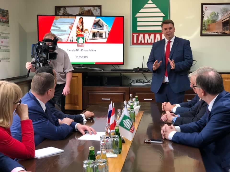 Тамбовскую область посетила делегация из Австрии