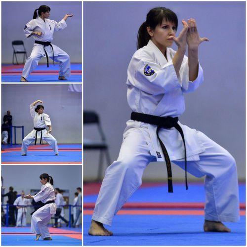 Тренер-преподаватель МАУДО ДЮСШ № 5 успешно выступила на Чемпионате Мира по киокусинкай