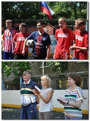 Турнир по мини-футболу среди дворовых команд префектур