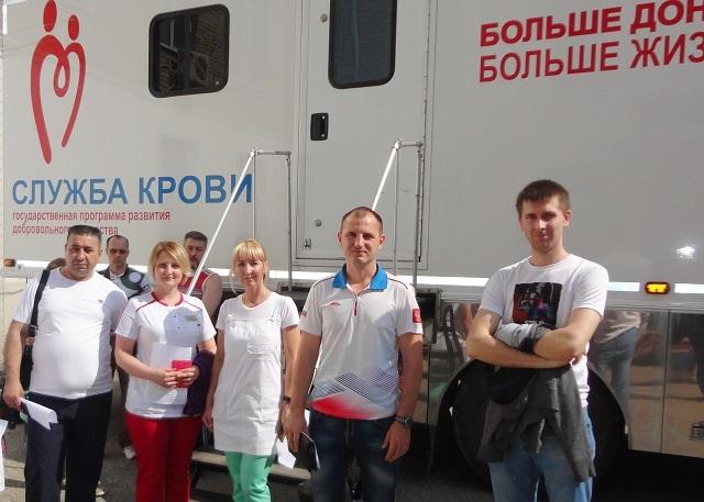 В Моршанском районе донорскую акцию поддержали медики и сотрудники полиции