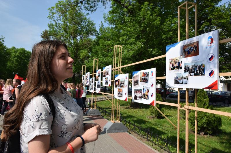 В сквере Петрова открылась новая уличная выставка