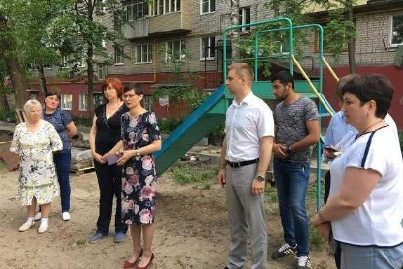 В Тамбове благоустройство дворов обсуждают на встречах с жителями
