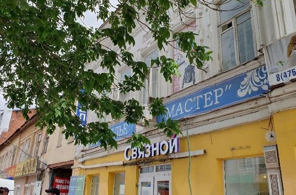 В Тамбове началась проверка по факту обрушения потолка в здании на Носовской