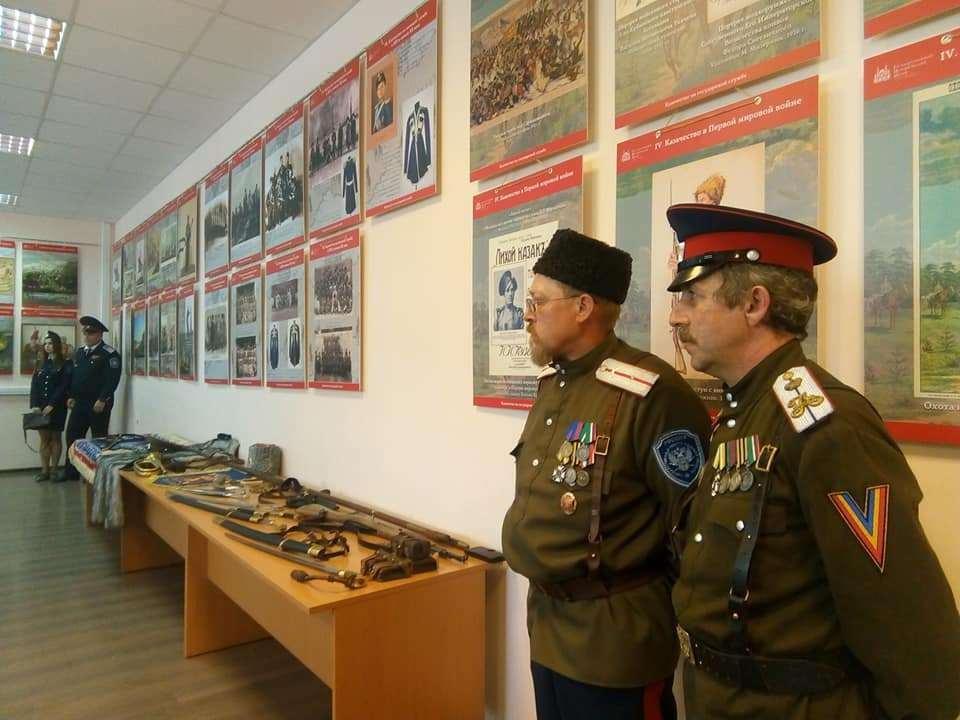 В Тамбове открылась выставка, посвященная истории русского казачества