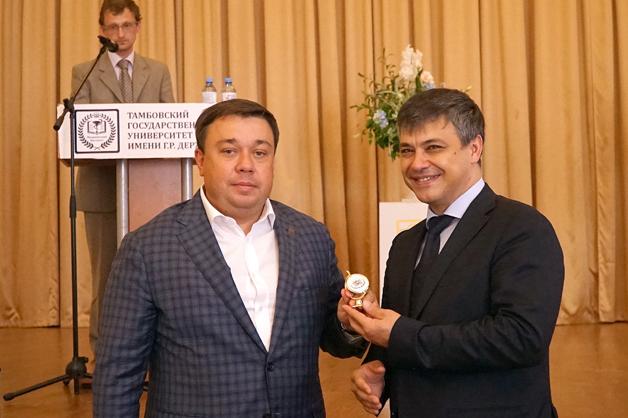 В Тамбове побывал председатель комитета по охране здоровья Госдумы и прочёл лекцию местным студентам-медикам