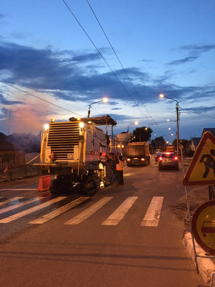 В Тамбове приступили к ремонту дороги на улице Базарной