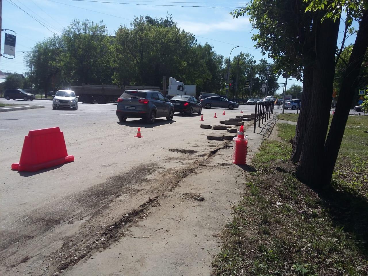 В Тамбове приступили к ремонту дороги по улице Авиационной